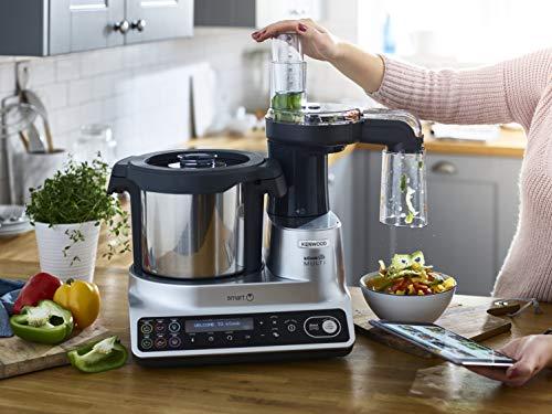 Kenwood KCook Multi Smart CCL450SI Robot da Cucina,Controllabile da  Cellulare,con 600+ ricette Gratuite,Bilancia Intelligente,1500 W,Capacit?  fino a ...