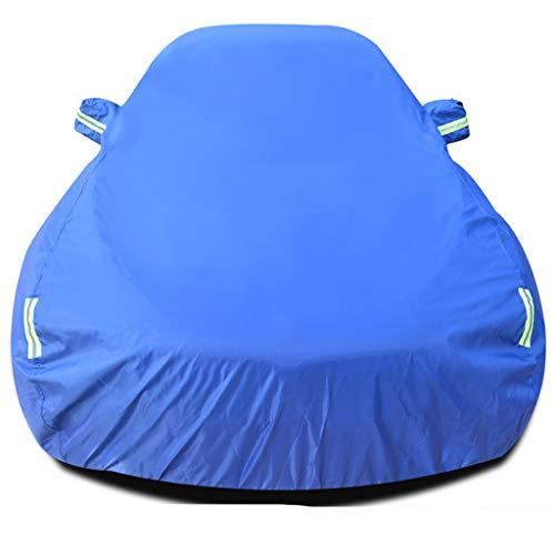 WANGJUNXIU Compatibile Con Audi A3 Outdoor Car Cover Impermeabile - Traspirante - Heavy Car Cover Antipioggia Protezione Solare Di Isolamento Four Seasons Universale (Color : Blue)